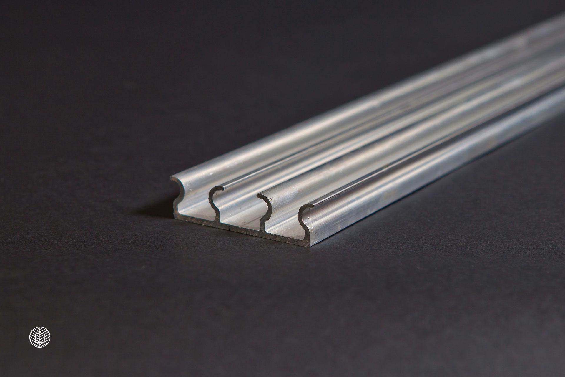 Двойная алюминиевая клипса